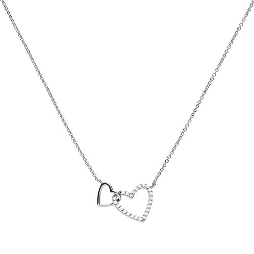 Interlinked Heart Necklace