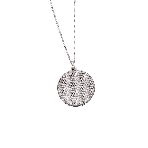Fiorelli Round Pave Set Locket with Cubic Zirconia