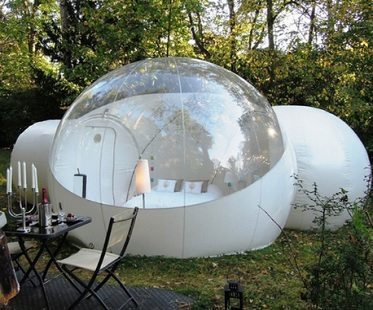 CRYPTOR GLOBAL Intergalactic Bubble Tent With Tunnel Inflatable