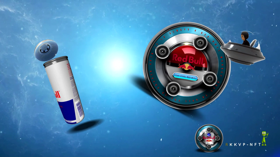 Red Bull Mars Distribution initiated. Red Bull the Official Drink on Mars