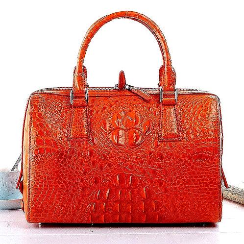 CRYPTOR GLOBAL ™️©️ FLORENCE the Exclusive Genuine Alligator Skin Handbag