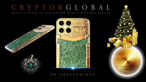 CRYPTOR GLOBAL ™️©️ The Caviar Emerald Apple Gem 12Pro-Max Victory
