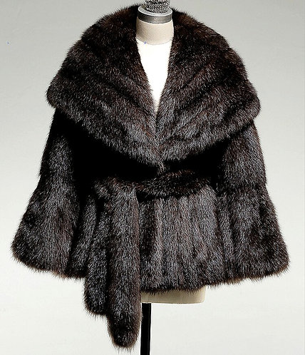 CRYPTOR GLOBAL ™️©️ Luxurious Sable Fur Jacket
