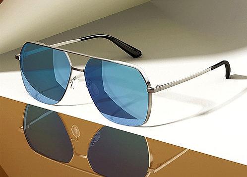 CRYPTOR GLOBAL ™️©️ BOLON Men Couture Blue Polarized Aviator Sunglasses