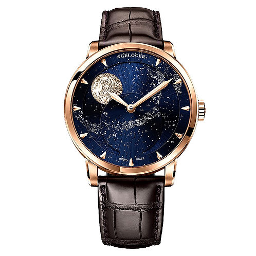 CRYPTOR GLOBAL ™️©️ AGELOCER Men's  Watch 80 Hour Power Reserve Moonphase Watch
