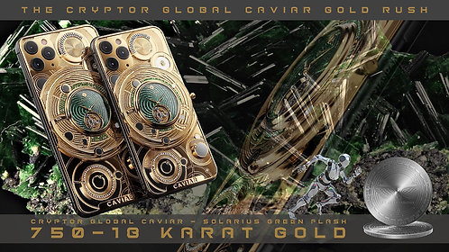 CRYPTOR GLOBAL - CAVIAR SOLARIUS FLASH VERDE