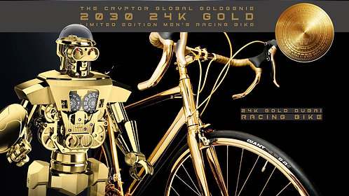 CRYPTOR GLOBAL GoldGenie The Dubai 24K Gold Bike