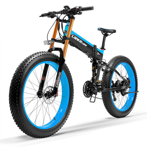 CRYPTOR GLOBAL Intergalactic Snow Bike 1000 W Folding Electric Sand Bike