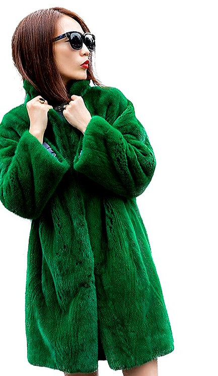 CRYPTOR GLOBAL ™️©️ The Fur Collection Genuine Green Mink
