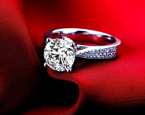 CRYPTOR GLOBAL ™️©️18K W Gold Wedding Ring I-J/Si 0.79 CT Round Cut Diamond