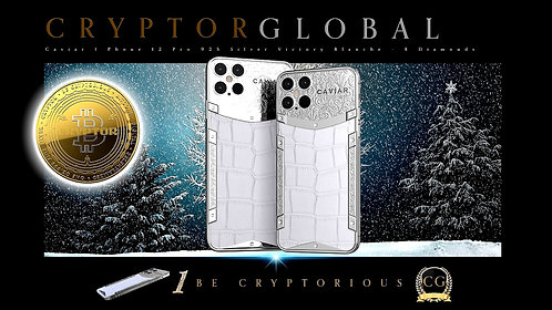 CRYPTOR GLOBAL™️©️ Caviar Elegance Blanche New I Phone Pro 12  512GB