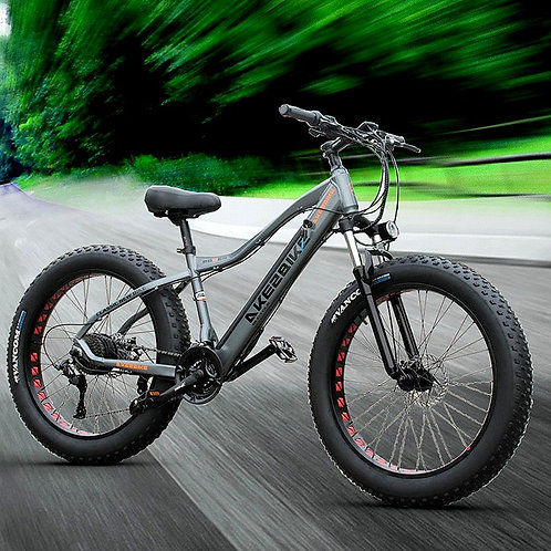 CRYPTOR GLOBAL ™️©️  26in. E- Mountain Bike 48V/500W Fat  4.0 Snow Tire
