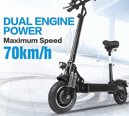 CRYPTOR GLOBAL™️©️Dual Engine Speed Scooter Adult only 52v/2000w-Double Motor