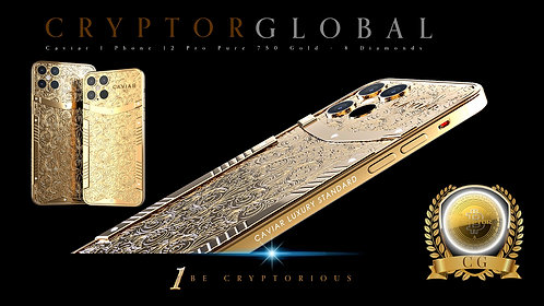 CRYPTOR GLOBAL™️©️ Caviar New I Phone 12 Pro-Max