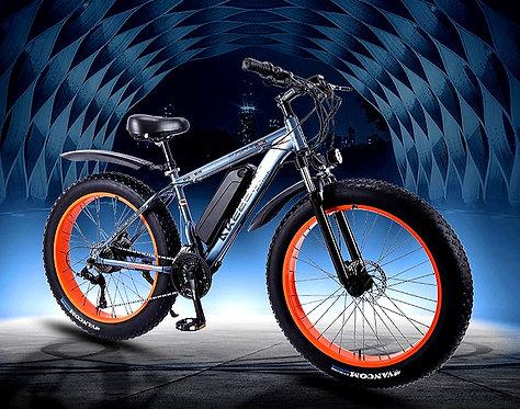 CRYPTOR GLOBAL ™️©️ 36V350W Electric Snow & Beach Bike 26 Inch 4.0 Fat Tire