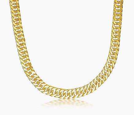 CRYPTOR GLOBAL ™️©️ 24K Pure Gold AU 999 Solid Gold Cuban Chain