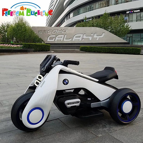 CRYPTOR GLOBAL EXTRATERRESTRIAL  Children's Electric Motorcycle Dual-Drive