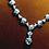 Thumbnail: CRYPTOR GLOBAL ™️©️ Paraiba Tourmaline Pendant Pure 18 K Gold