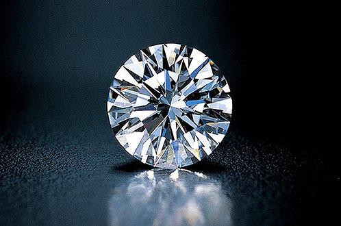 CRYPTOR GLOBAL ©️™️ Illuminated 2ct  F-E 3EX Round Diamond