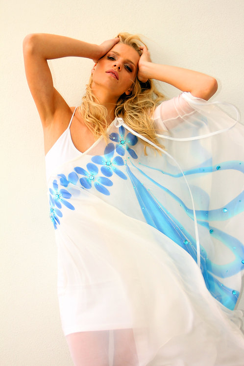 Heather Jones PONCHO DRESS