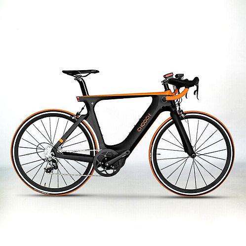CRYPTOR GLOBAL ™️©️ 700c Carbon Fiber Road Ebike Super Lightweight 11 Speed