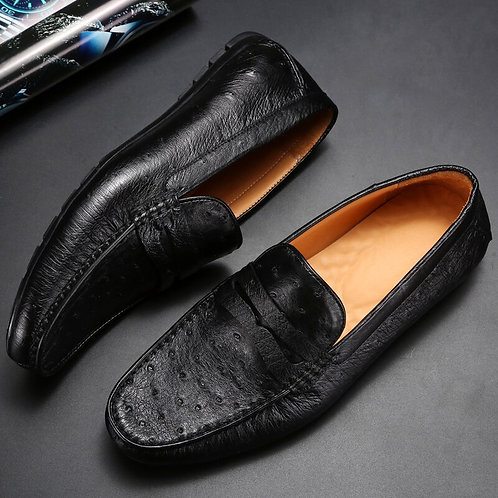 CRYPTOR GLOBAL New Ostrich Leather Shoes for the CRYPTORIOUS