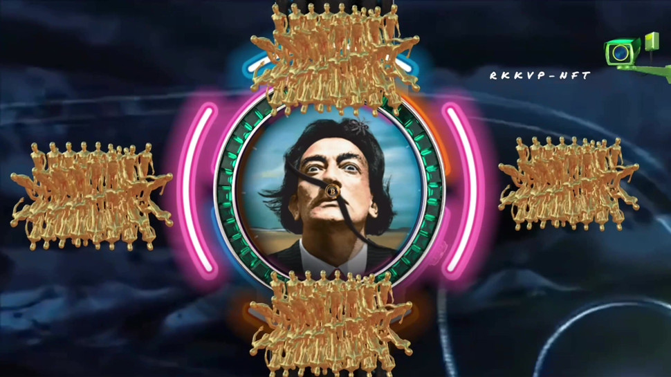 The Surreal is now real as Mind Control Globally succeeded. One may Wonder what Dali's involvement might have been?