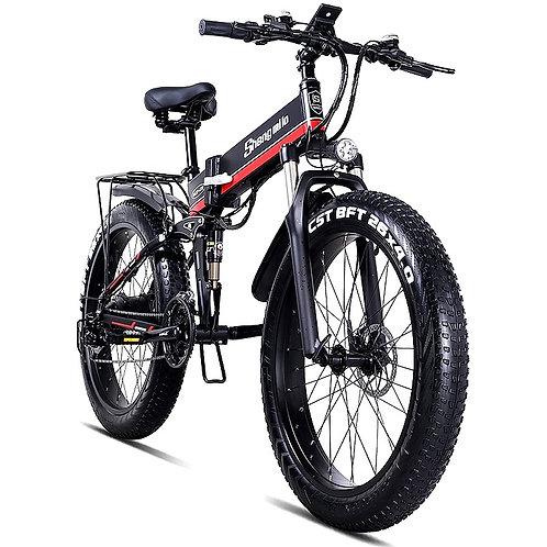 CRYPTOR GLOBAL ™️™️©️ 500 W  Foldable Electric Mountain Bike for every terrain