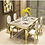 Thumbnail: CRYPTOR GLOBAL ™️©️ Manhattan  Collection extravagant  Dining Table and Chairs