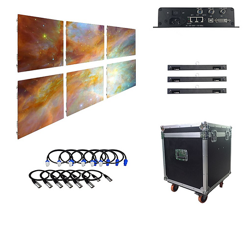 CRYPTOR GLOBAL P6 Outdoor Led Video Wall 6 Panels System Package