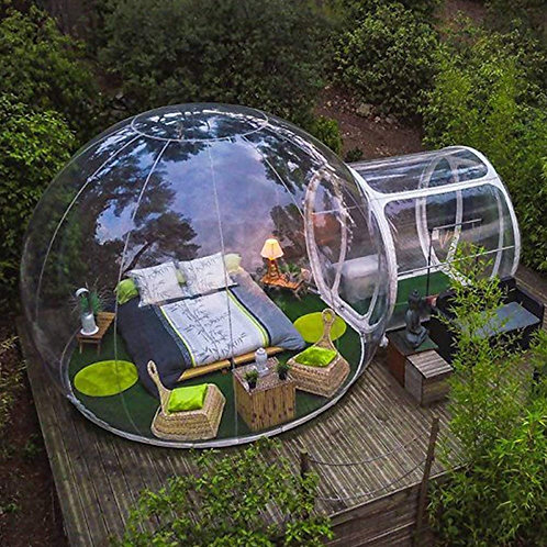 CRYPTOR GLOBAL MOON TENT ⛺️  Bubble House 3m/4m/5m Dia. Outdoor FREE SHIPPING