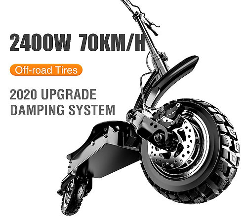 CRYPTOR GLOBAL ™️©️ Adult Speed Scooter  2400W  Electric  70Km/H - 45 mph