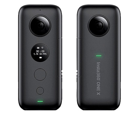 CRYPTOR GLOBAL ™️©️ Insta 360 ONE X Action Camera 5.7K Video