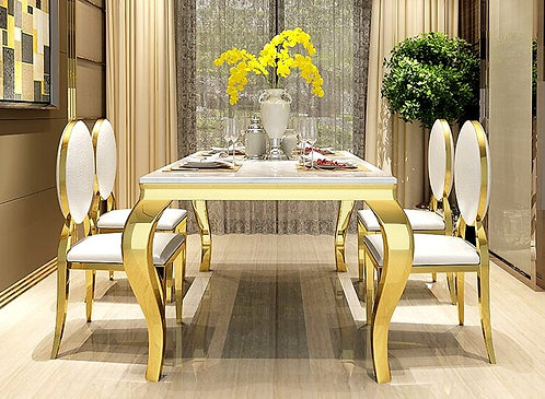 CRYPTOR GLOBAL ™️©️ Manhattan  Collection extravagant  Dining Table and Chairs