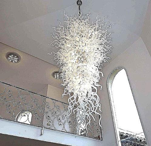 CRYPTOR GLOBAL ™️©️Blown Glass Art Murano Chandelier Lighting