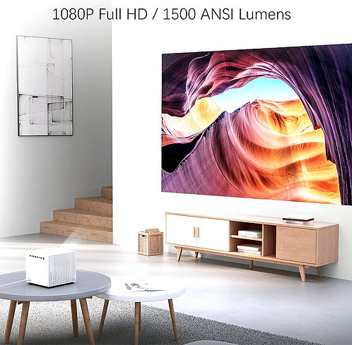 CRYPTOR GLOBAL ™️©️ Xiaomi Vogue 1080P Projector DLP 1500ANSI Lumens 2GB+4K