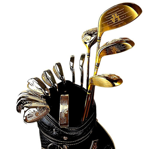 "CRYPTOR GLOBAL™️©️ ""OR DE MORFONTAINE"" the Complete Golf Club Driver set"