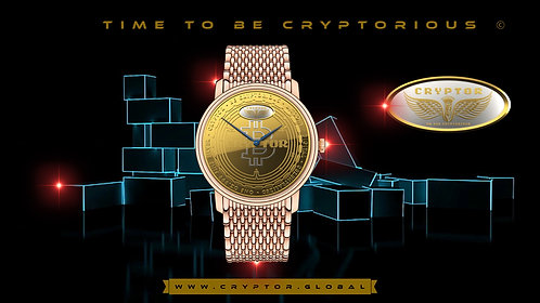 CRYPTOR SACRER Limited Edition Timepiece of only 4