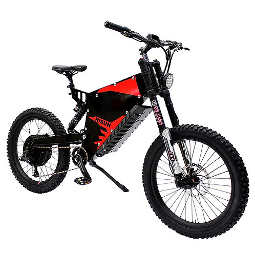 CRYPTOR GLOBAL ™️©️ 5000W All Terrain Electric Mountain Bike