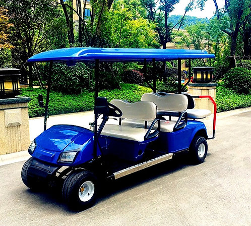 CRYPTOR GLOBAL™️©️  ROYAL AUGUSTA Luxurious 6-Seat Golf Cart