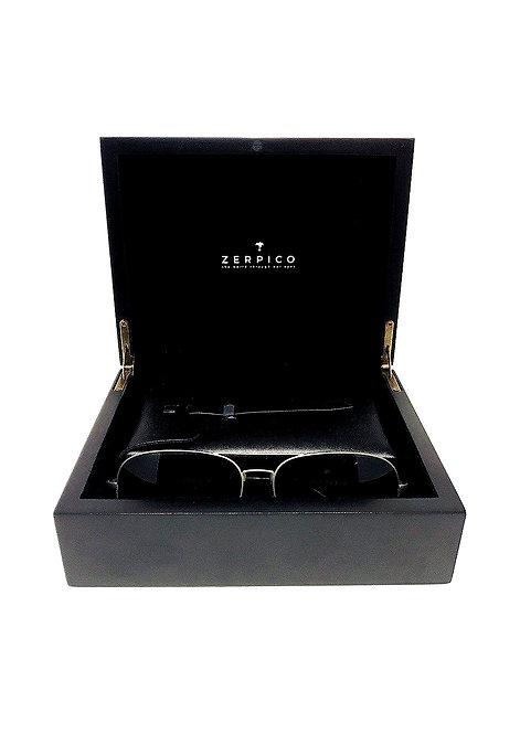 CRYPTOR GLOBAL ™️©️ Titanium Aviator Sunglasses with Gift Box - TITAN
