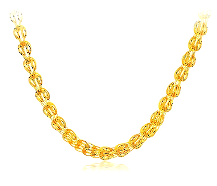 CRYPTOR GLOBAL ™️©️ .9999  24K Pure Gold Necklace