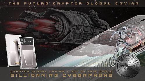 CRYPTOR GLOBAL CAVIAR CYBERPHONE BILLIONAIRE EDITION