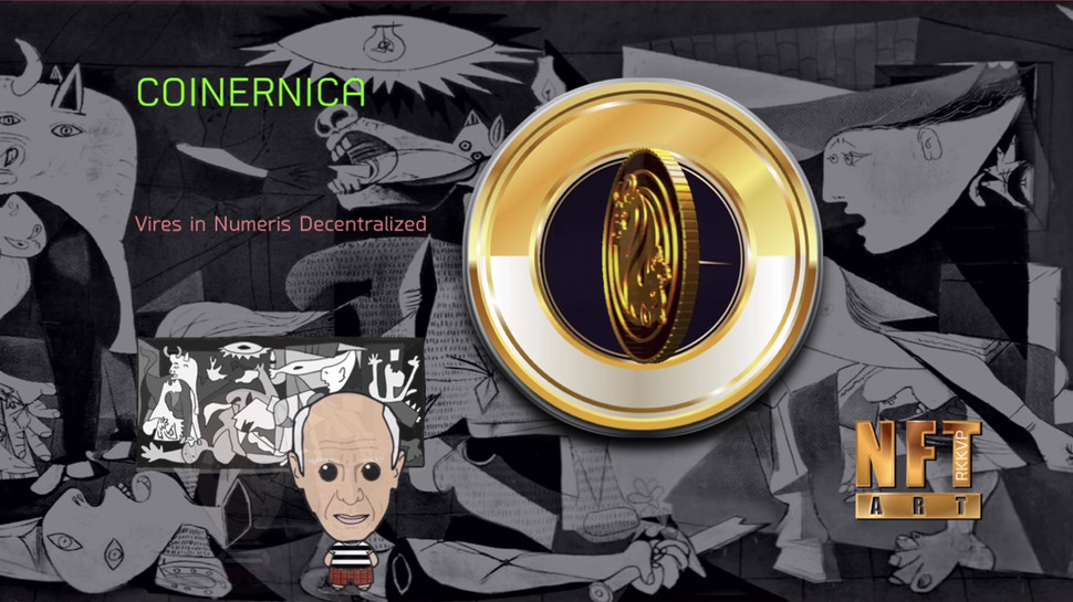 COINERNICA - The Picasso Coin of NFT Art
