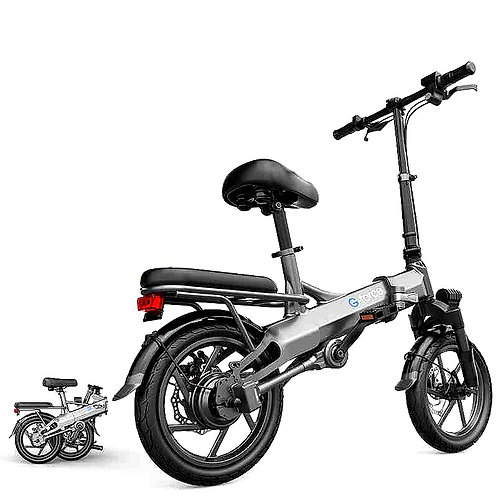 CRYPTOR GLOBAL 2030 Tech Gadget 14 Inch Chain-less Electric Folding Bicycle