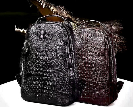 CRYPTOR GLOBAL ™️©️  ASPEN the Genuine Alligator Skin Men Business Collection