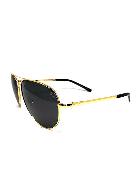 CRYPTOR GLOBAL ™️©️ 24K Gold plated Titanium Aviator Sunglasses