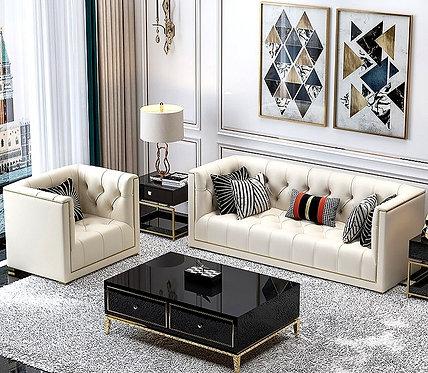 Hot Sale Velvet Sofa Living Room Furniture Luxury Sofa Set