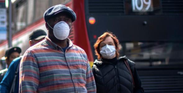 Covid-19 pandemic / Sky News