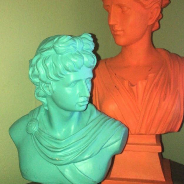 Bourn Renaissance Statues
